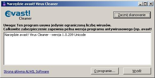 avast! Virus Cleaner