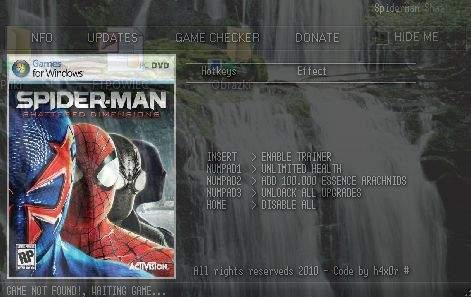 Скачать Трейнер Для Spider Man Shattered Dimensions - фото 9
