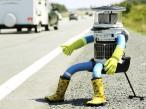 Oto HitchBOT - robot, który samotnie przebył Kanadę
