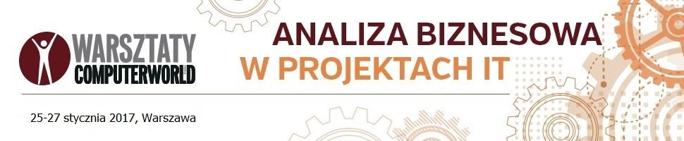 Analiza biznesowa- warsztaty Computerworld