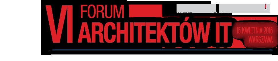 Forum Architektów IT 2016