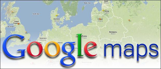 Śledzenie na żywo z Google Maps