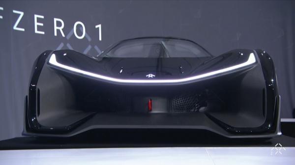 Koncepcyjny model FF Zero One firmy Faraday Future.