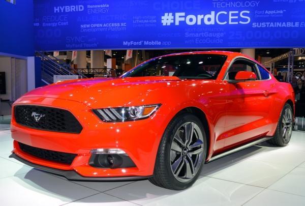 Premierowa prezentacja nowego modelu Forda Mustanga.