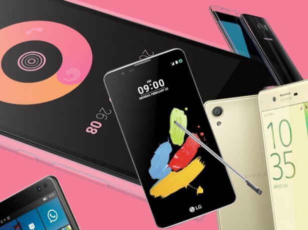 Smartfony – nowości na MWC 2016