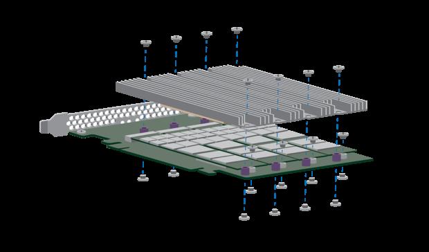 Konstrukcja zapowiadanego przez Seagate, nowego dysku SSD