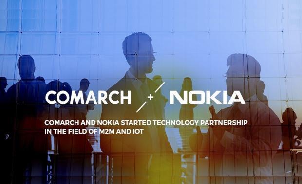 Comarch i Nokia będą współpracować w obszarach M2M i IoT