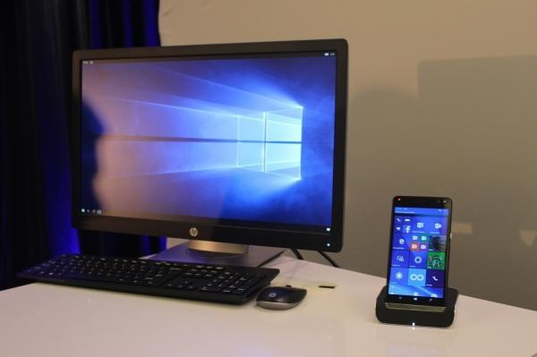 Smartfon HP Elite X3 w ograniczonym zakresie może być wykorzystywany zamiast notebooka.