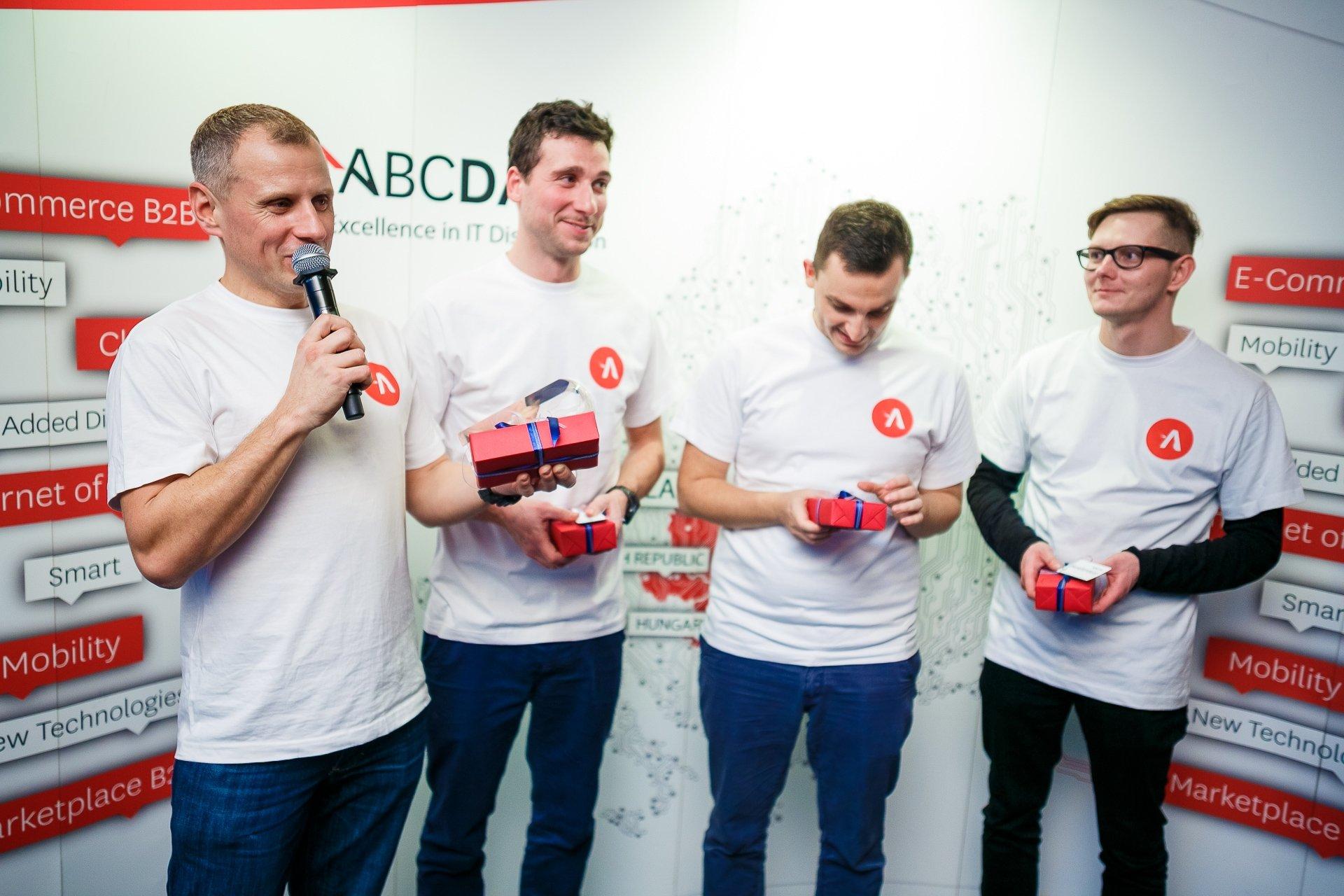 Od lewej: Sebastian Watras, Marcin Kitlas, Sebastian Ostrowski, Bartek Kossakowski