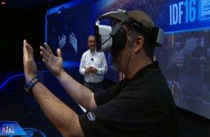 Okulary Intel VR opracowane w ramach projektu Alloy. Źródło: Intel.