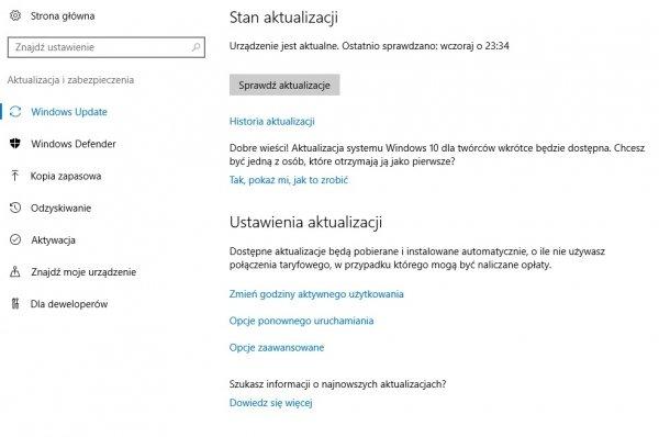 Tak Microsoft anonsuje zbliżającą się premierę Windows 10 Creators Update.