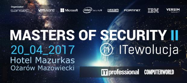ITewolucja: MASTERS OF SECURITY II – ochrona danych, GDPR oraz przegląd trendów na lata 2017/2018